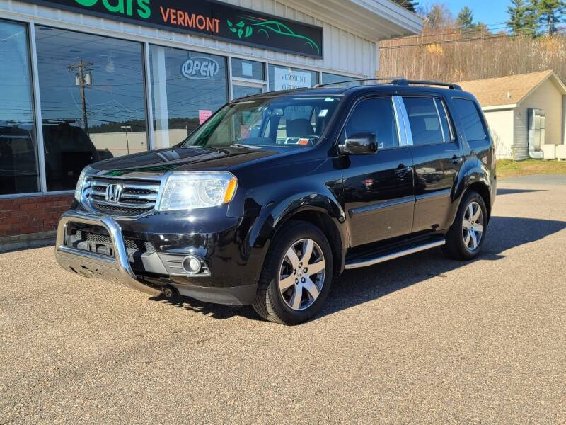 2013 Honda Pilot for sale at Green Cars Vermont in Montpelier VT
