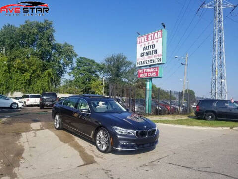 2016 BMW 7 Series for sale at Five Star Auto Center in Detroit MI