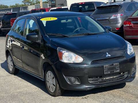 2015 Mitsubishi Mirage for sale at MetroWest Auto Sales in Worcester MA