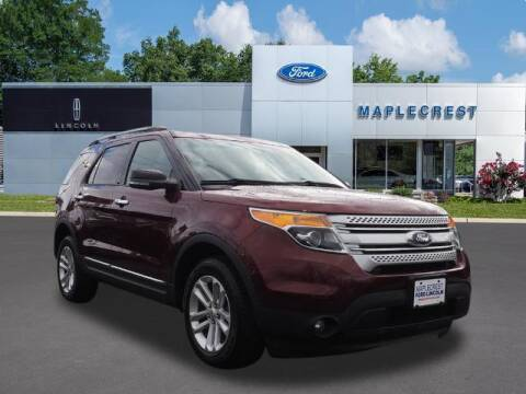 2015 Ford Explorer for sale at MAPLECREST FORD LINCOLN USED CARS in Vauxhall NJ