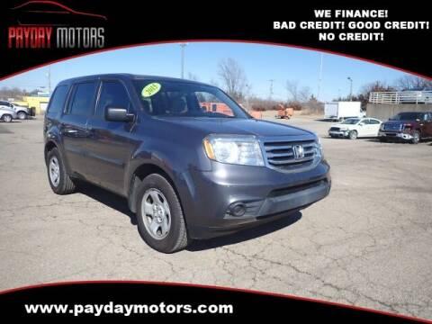 2015 Honda Pilot for sale at Payday Motors in Wichita And Topeka KS