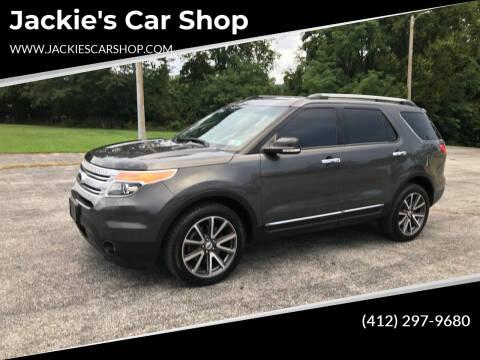 2015 Ford Explorer for sale at Jackie's Car Shop in Emigsville PA