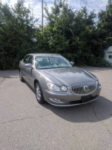 2009 Buick LaCrosse for sale at WEB NIK Motors in Fitchburg MA