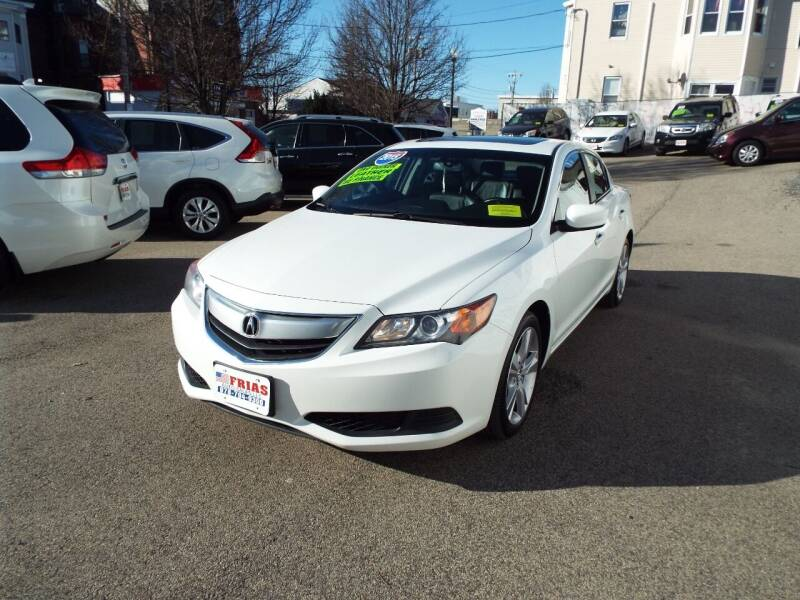 2015 Acura ILX for sale at FRIAS AUTO SALES LLC in Lawrence MA
