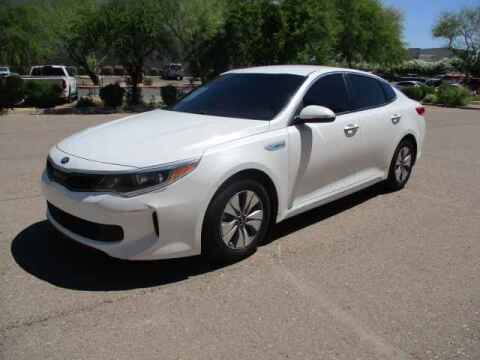 2017 Kia Optima Hybrid for sale at Corporate Auto Wholesale in Phoenix AZ