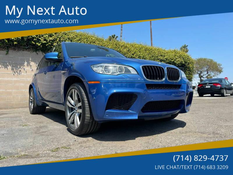 2013 BMW X5 M for sale at My Next Auto in Anaheim CA