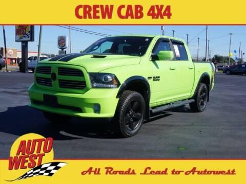 2017 RAM Ram Pickup 1500 for sale at Autowest Allegan in Allegan MI