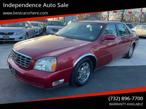 2004 Cadillac DeVille for sale at Independence Auto Sale in Bordentown NJ