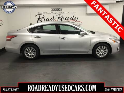 2014 Nissan Altima for sale at Road Ready Used Cars in Ansonia CT
