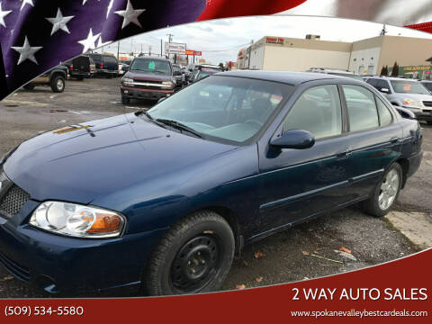 2006 Nissan Sentra for sale at 2 Way Auto Sales in Spokane Valley WA