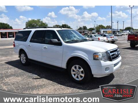 2010 Ford Expedition EL for sale at Carlisle Motors in Lubbock TX