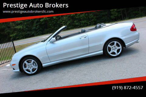 2007 Mercedes-Benz CLK for sale at Prestige Auto Brokers in Raleigh NC