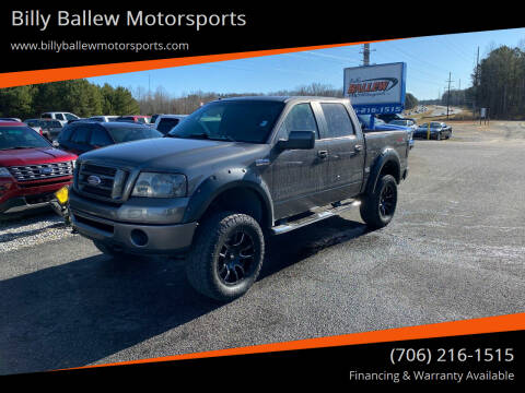 2007 Ford F-150 for sale at Billy Ballew Motorsports in Dawsonville GA