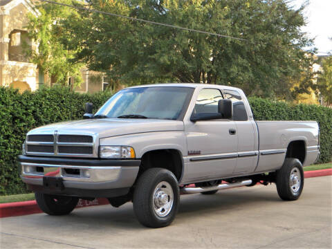 1998 Dodge Ram Pickup 2500 for sale at RBP Automotive Inc. in Houston TX