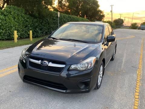 2014 Subaru Impreza for sale at EUROPEAN AUTO ALLIANCE LLC in Coral Springs FL