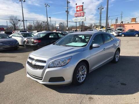 2013 Chevrolet Malibu for sale at 4th Street Auto in Louisville KY