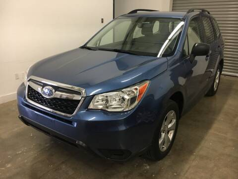 2016 Subaru Forester for sale at CHAGRIN VALLEY AUTO BROKERS INC in Cleveland OH