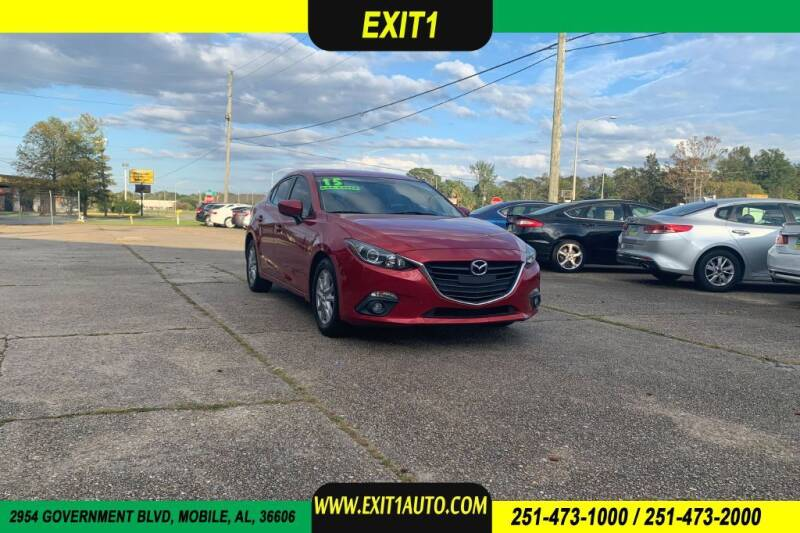 2015 Mazda MAZDA3 for sale at Exit 1 Auto in Mobile AL