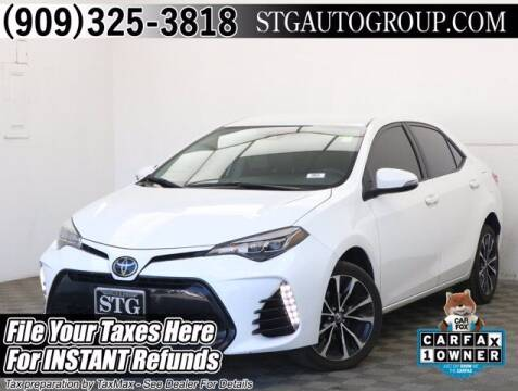2018 Toyota Corolla for sale at STG Auto Group in Montclair CA
