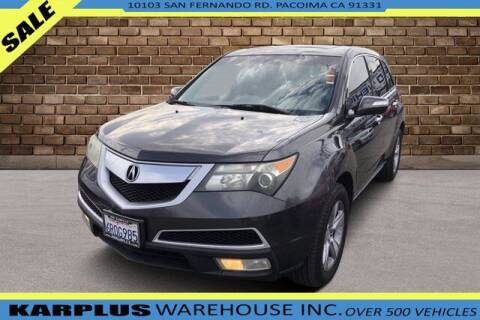 2011 Acura MDX for sale at Karplus Warehouse in Pacoima CA