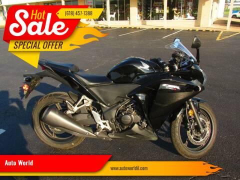 2013 Honda CBR250R for sale at Auto World in Carbondale IL
