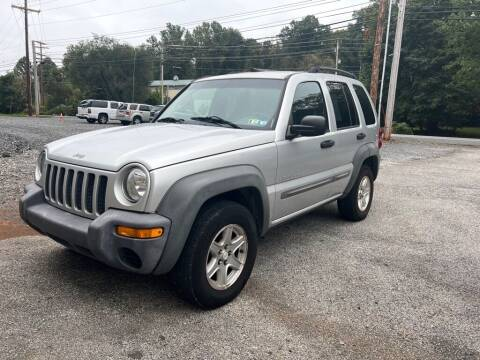 2003 Jeep Liberty for sale at Old Trail Auto Sales in Etters PA