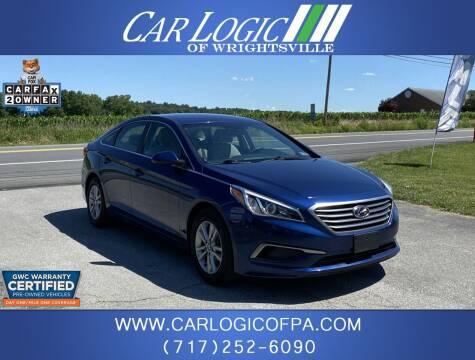 2016 Hyundai Sonata for sale at Car Logic in Wrightsville PA