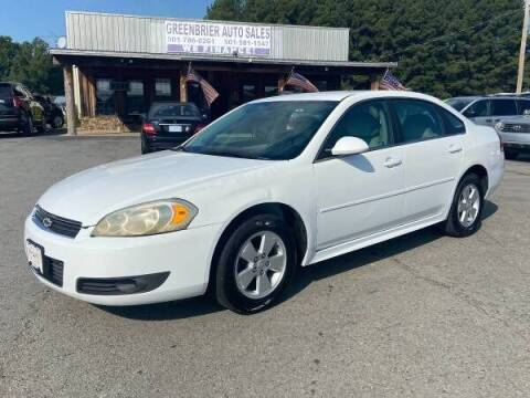 2011 Chevrolet Impala for sale at Greenbrier Auto Sales in Greenbrier AR
