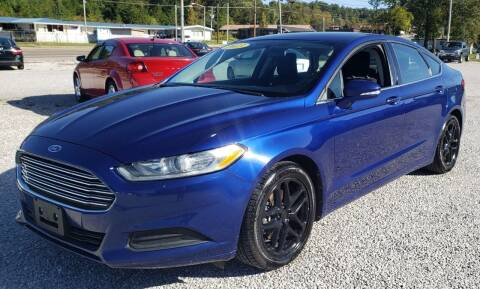 2013 Ford Fusion for sale at COOPER AUTO SALES in Oneida TN