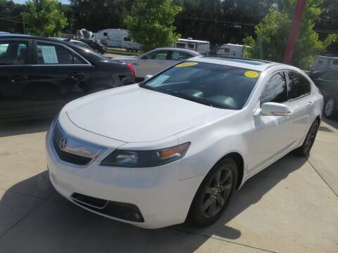 2013 Acura TL for sale at Azteca Auto Sales LLC in Des Moines IA