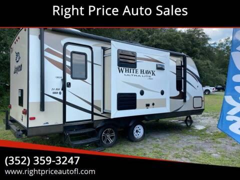 2015 Jayco WHITEHAWK ULTRA for sale at Right Price Auto Sales in Waldo FL