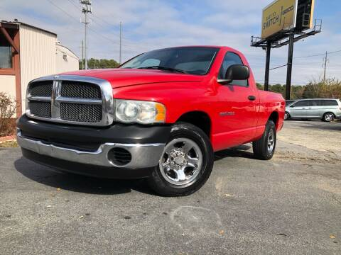 2003 Dodge Ram Pickup 1500 for sale at Atlas Auto Sales in Smyrna GA