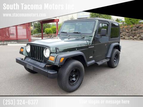 1997 Jeep Wrangler for sale at South Tacoma Motors Inc in Tacoma WA