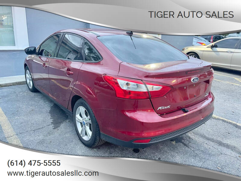2013 Ford Focus for sale at Tiger Auto Sales in Columbus OH