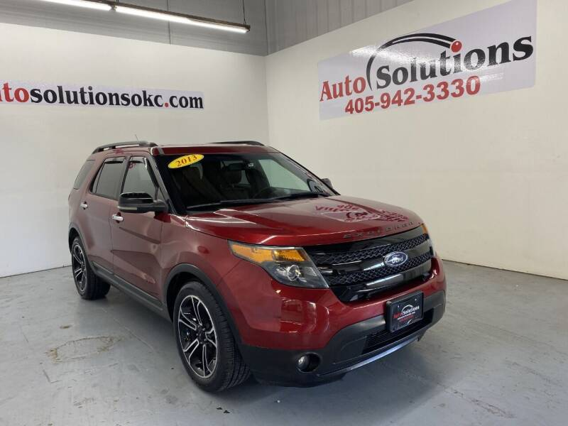 2013 Ford Explorer for sale at Auto Solutions in Warr Acres OK