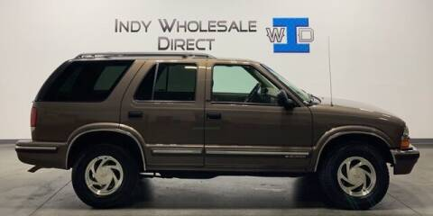 1998 Chevrolet Blazer for sale at Indy Wholesale Direct in Carmel IN
