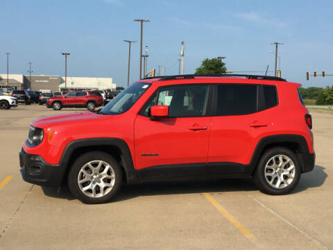 2018 Jeep Renegade for sale at LANDMARK OF TAYLORVILLE in Taylorville IL