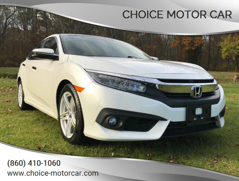 2016 Honda Civic for sale at Choice Motor Car in Plainville CT