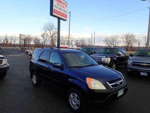 2004 Honda CR-V for sale at Marty's Auto Sales in Savage MN