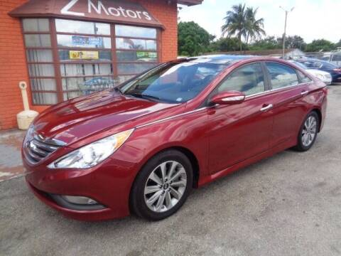 2014 Hyundai Sonata for sale at Z MOTORS INC in Hollywood FL