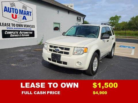 2009 Ford Escape Hybrid for sale at Auto Mart USA -Lease To Own in Kansas City MO