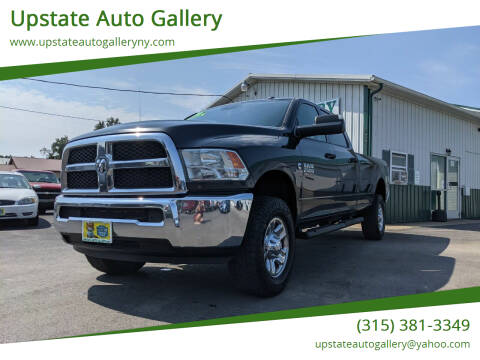 2016 RAM Ram Pickup 2500 for sale at Upstate Auto Gallery in Westmoreland NY