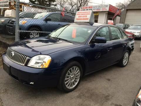 2006 Mercury Montego for sale at White River Auto Sales in New Rochelle NY