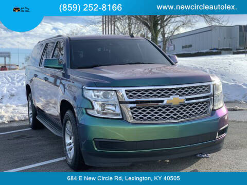 2015 Chevrolet Suburban for sale at New Circle Auto Sales LLC in Lexington KY