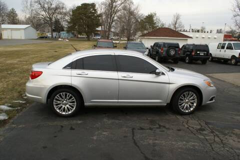 2012 Chrysler 200 for sale at MARK CRIST MOTORSPORTS in Angola IN