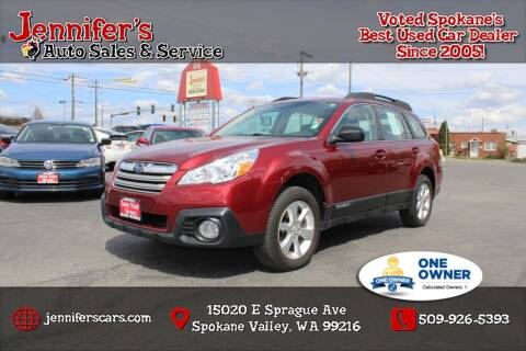 2014 Subaru Outback for sale at Jennifer's Auto Sales in Spokane Valley WA