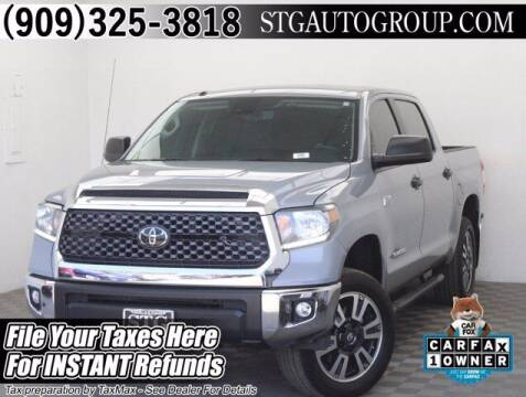 2018 Toyota Tundra for sale at STG Auto Group in Montclair CA