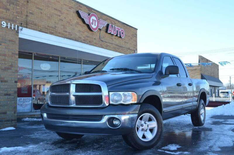 2002 Dodge Ram Pickup 1500 for sale at JT AUTO in Parma OH