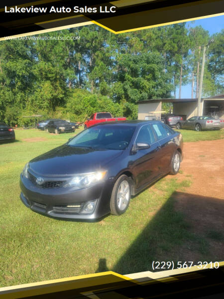 2012 Toyota Camry for sale at Lakeview Auto Sales LLC in Sycamore GA