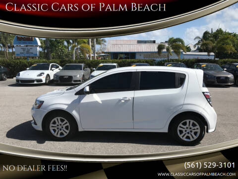 2019 Chevrolet Sonic for sale at Classic Cars of Palm Beach in Jupiter FL